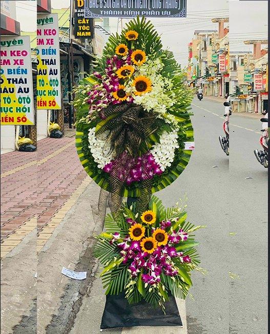 hoa tang lễ giá rẻ tại đông triều